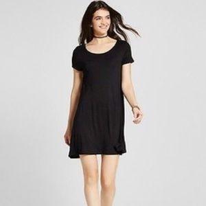 Mossimo   Black Pocket Tee Dress